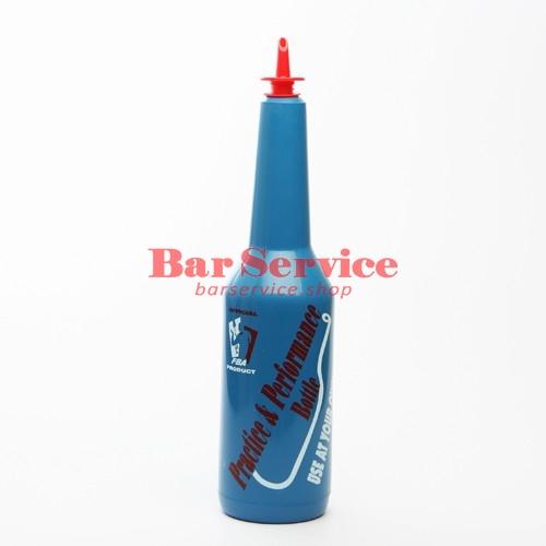 Бутылка д/флейринга синяя в Ростове-на-Дону
